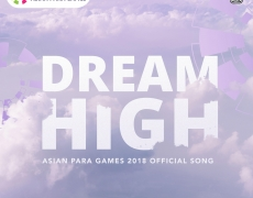 SHERLY SHEINAFIA & CLAUDIA FRITSKA – DREAM HIGH (OFFICIAL THEME SONG ASIAN PARA GAMES 2018)